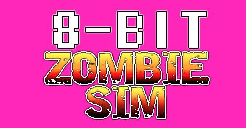 8-bit zombie sim
