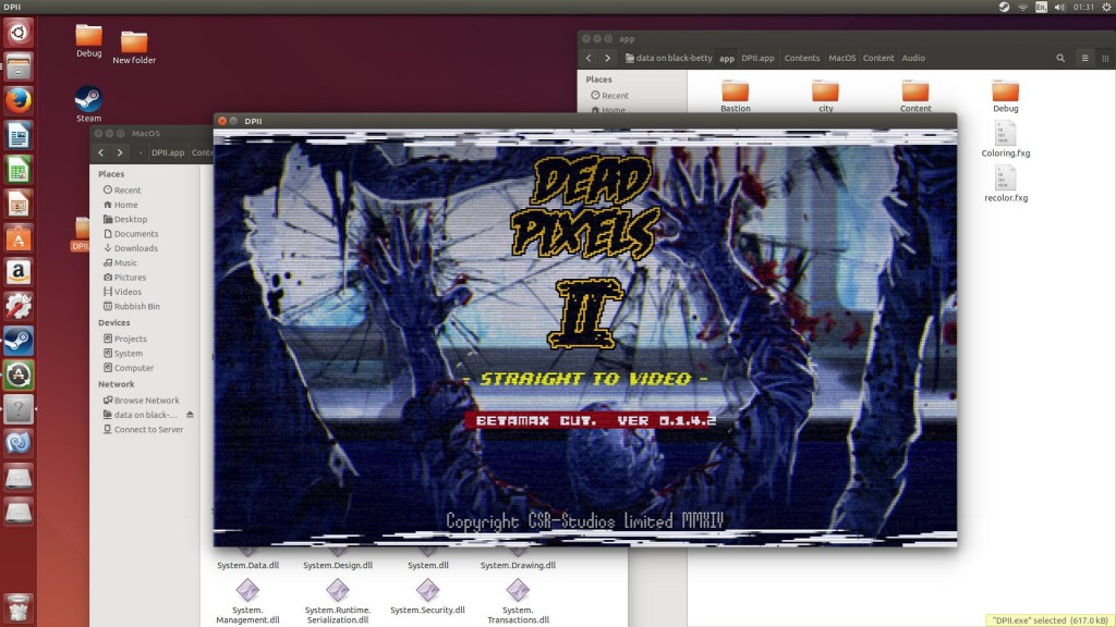 Dead Pixels II running on Linux