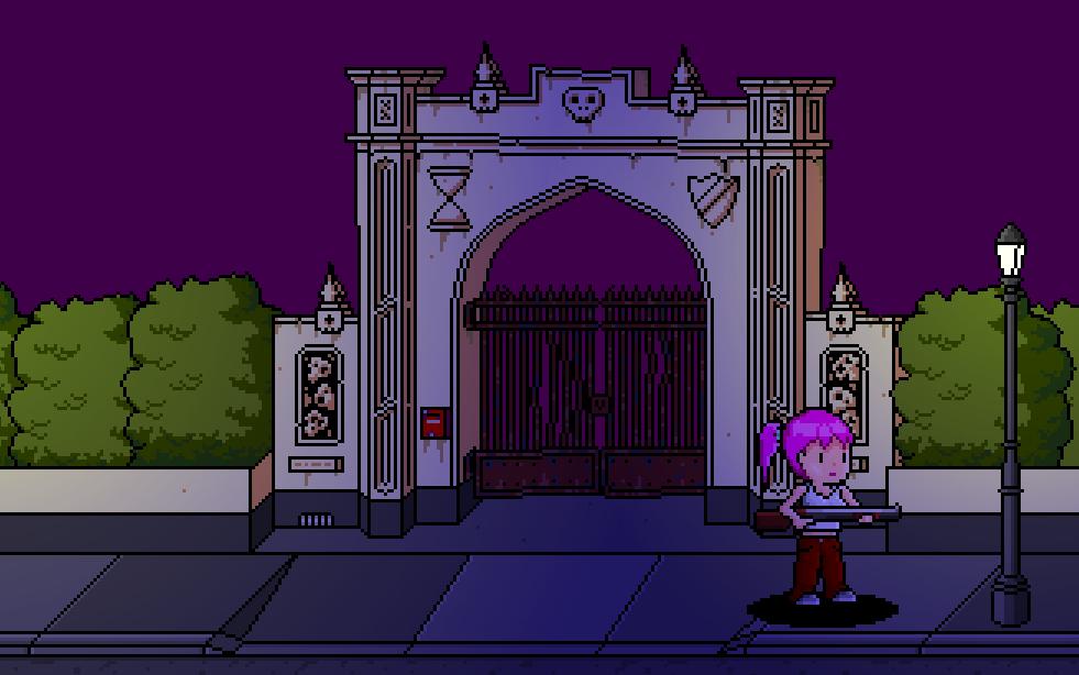 Graveyard gates